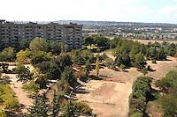 Roma, periferia.il parco delle Betulle, .borgata Fidene..Rome suburb.