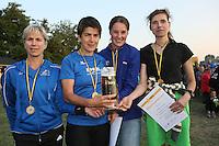 LG BSN Ladies Plus, Siegerinnen bei den Damen-Teams - 4. OPEL Firmenlauf, Stadion am Sommerdamm