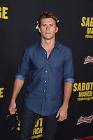 Scott Eastwood at the premiere of &quot;Sabotage&quot; at Regal Cinemas L.A. Live.<br /> March 19, 2014  Los Angeles, CA<br /> Picture: Paul Smith / Featureflash