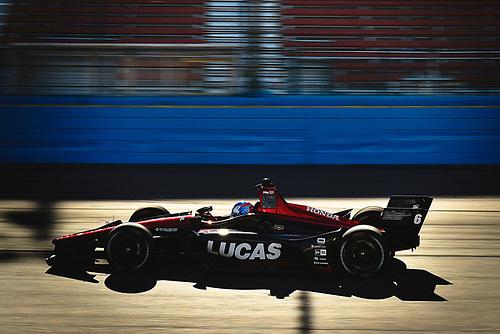 2018 Verizon IndyCar Series Phoenix testing<br /> Phoenix Raceway, Avondale, Arizona, USA<br /> Thursday 8 February 2018<br /> Robert Wickens, Schmidt Peterson Motorsports Honda<br /> World Copyright: Scott R LePage/LAT Images<br /> ref: Digital Image _SRL2889