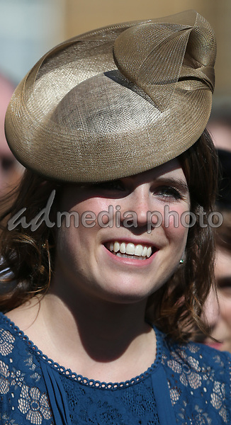 25 May 2017 - Princess Eugenie during the Royal Society for the Prevention of Accidents (RoSPA) Centenary Garden Party at Buckingham Palace, London. Photo Credit: ALPR/AdMedia