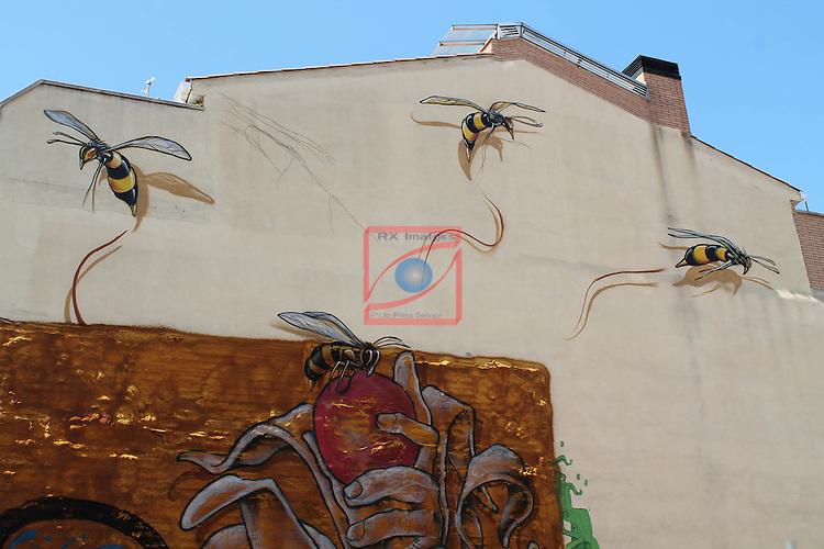 Street Art-Graffittis.<br /> Sabadell - Barri de Gracia.