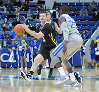December 12, 2015 - Colorado Springs, Colorado, U.S. -  Army guard, Scott Mammel #3, during an NCAA basketball game between the Army West Point Black Knights and the Air Force Academy Falcons at Clune Arena, U.S. Air Force Academy, Colorado Springs, Colorado.  Army West Point defeats Air Force 90-80.