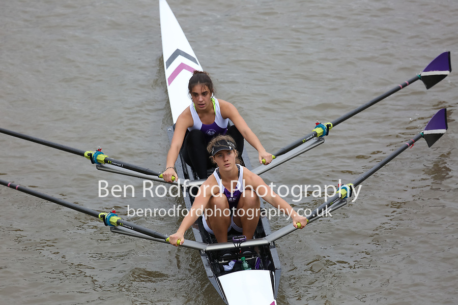 Crew: 347   PHS U    Putney High School Rowing Club    W J18 2x Club <br /> <br /> Pairs Head 2017<br /> <br /> To purchase this photo, or to see pricing information for Prints and Downloads, click the blue 'Add to Cart' button at the top-right of the page.