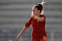 Annamaria Serturini of AS Roma  celebrates after scoring the goal of 1-2 <br /> Roma 8/9/2019 Stadio Tre Fontane <br /> Luisa Petrucci Trophy 2019<br /> AS Roma - Paris Saint Germain<br /> Photo Andrea Staccioli / Insidefoto