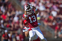STANFORD, CA - October 26, 2019: Stanford football defeats Arizona 41-31 at Stanford Stadium.