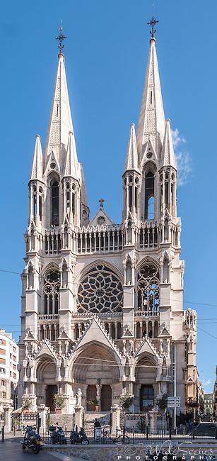 St. Vincent de Paul Cathedral in Marseille, France