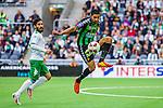 Stockholm 2014-06-18 Fotboll Superettan Hammarby IF - GAIS :  <br /> GAIS Sandeep Mankoo i aktion <br /> (Foto: Kenta J&ouml;nsson) Nyckelord:  Superettan Tele2 Arena Hammarby HIF Bajen GAIS portr&auml;tt portrait