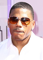 LOS ANGELES, CA, USA - JUNE 29: Rapper Nelly arrives at the 2014 BET Awards held at Nokia Theatre L.A. Live on June 29, 2014 in Los Angeles, California, United States. (Photo by Xavier Collin/Celebrity Monitor)