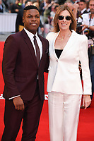 "John Boyega and director, Kathryn Bigelow<br /> attending the premiere of ""Detroit"" at the Curzon Mayfair, London. <br /> <br /> <br /> ©Ash Knotek  D3294  10/08/2017"