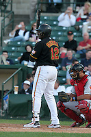Rochester Red Wings Ruben Sierra during an International League game at Frontier Field on June 14, 2006 in Rochester, New York.  (Mike Janes/Four Seam Images)