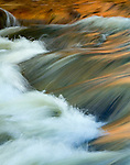 Big Thompson River, Rocky Mountain National Park, Colorado, abstract