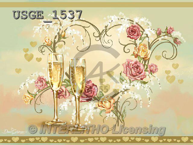 Dona Gelsinger, BABIES, BÉBÉS, wedding, Hochzeit, boda, still life Stillleben, naturaleza morta, flowers, Blu, paintings+++++,USGE1537,#B#,#W# ,everyday