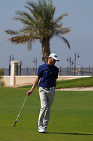 Sebastian Soderberg (SWE) on the 9th during Round 4 of the Saudi International at the Royal Greens Golf and Country Club, King Abdullah Economic City, Saudi Arabia. 02/02/2020<br /> Picture: Golffile | Thos Caffrey<br /> <br /> <br /> All photo usage must carry mandatory copyright credit (© Golffile | Thos Caffrey)