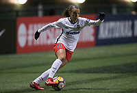 Seattle, WA - Saturday March 24, 2018: Mallory Pugh during a regular season National Women's Soccer League (NWSL) match between the Seattle Reign FC and the Washington Spirit at the UW Medicine Pitch at Memorial Stadium.