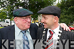 Michael Healy-Rae, new Mayor of.Kerry, elected at Kerry County Councils.meeting on Friday, pictured with.father Jackie Healy Rae.