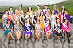 The 2011 Kerry Rose Contestants pictured at the Ballyroe Hotel, Tralee on Sunday.
