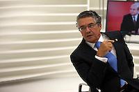 SAO PAULO, SP, 09 DE JANEIRO DE 2012 - Ministro Marco Aurelio Mello, do Supremo Tribunal Federal - STF- participa do programa Roda Viva nesta segunda-feira (09)da Tv Cultura, na Zona Oeste da Cidade.  Foto Ricardo Lou - News Free