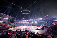 PYEONGCHANG,SOUTH KOREA,09.FEB.18 - OLYMPICS - Olympic Winter Games PyeongChang 2018, official opening ceremony. Image shows a general view of the stadium and athletes of Austria. Photo: GEPA pictures/ Matic Klansek / Copyright : Explorer-media