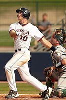 SAN ANTONIO, TX - MARCH 27, 2012: The University of Texas Pan American Broncos vs. The University of Texas at San Antonio Roadrunners Baseball at Roadrunner Field. (Photo by Jeff Huehn)