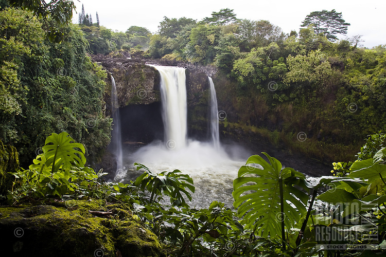 Waterfall on the Big Island of Hawaii