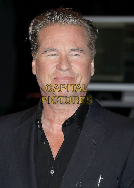 Val Kilmer<br /> at The Shakespeare Center of Los Angeles' 23rd Annual Simply Shakespeare held at The Broad Stage, Santa Monica, California, USA, 25th September 2013.<br /> portrait headshot grey gray suit shirt black<br /> CAP/ADM/RE<br /> &copy;Russ Elliot/AdMedia/Capital Pictures