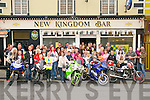 David Flynn Memorial Run : Attending the David Flynn Memorial Poker run around North Kerry on Saturday last prior to the start at The Kingdom Bar.