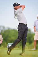 Jason Day (AUS) watches his tee shot on 13 during Friday's round 2 of the 117th U.S. Open, at Erin Hills, Erin, Wisconsin. 6/16/2017.<br /> Picture: Golffile | Ken Murray<br /> <br /> <br /> All photo usage must carry mandatory copyright credit (&copy; Golffile | Ken Murray)