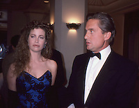 Michael Douglas &amp; Wife Deidre Douglas<br />