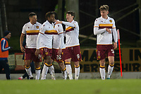 12th February 2020; McDairmid Park, Perth, Perth and Kinross, Scotland; Scottish Premiership Football, St Johnstone versus Motherwell; Chris Long of Motherwell is congratulated after scoring for 1-1 in the 32md minute