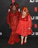 "10 January 2020 - Beverly Hills, California - Latrice Royale and Ginger Minj. Netflix's ""AJ And The Queen"" Season 1 Premiere at The Egyptian Theatre in Hollywood. Photo Credit: Billy Bennight/AdMedia"