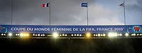 20190607 - PARIS , FRANCE : illstration picture shows the openingsceremony with the boarding ' Coupe du monde feminine de la fifa france 2019 ' during the female soccer game between France – Les Bleues  and Korea Republic, the opening game and first game for both teams in group A during the FIFA Women's  World Championship in France 2019, Friday 7 th June 2019 at the Parc des Princes Stadium in Paris , France .  PHOTO SPORTPIX.BE | DAVID CATRY