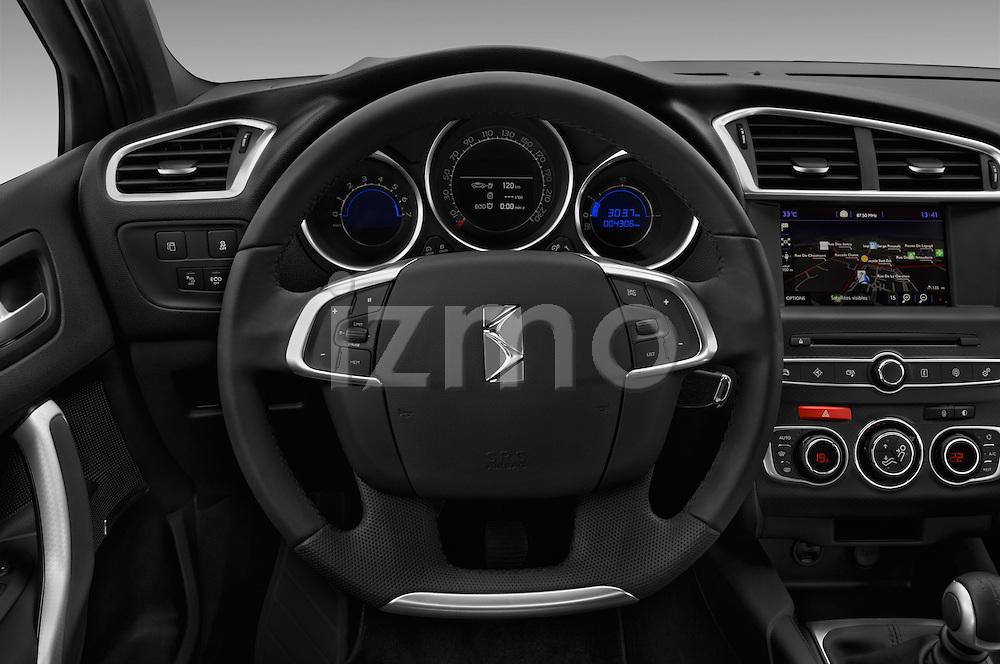 Car pictures of steering wheel view of a 2016 Ds DS-4-Crossback Sport-Chic 5 Door Hatchback Steering Wheel