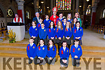 Ms Griffin's Sixth class students from CBS primary were confirmed by Bishop Ray Browne  at St. John's Church Tralee on Thursday