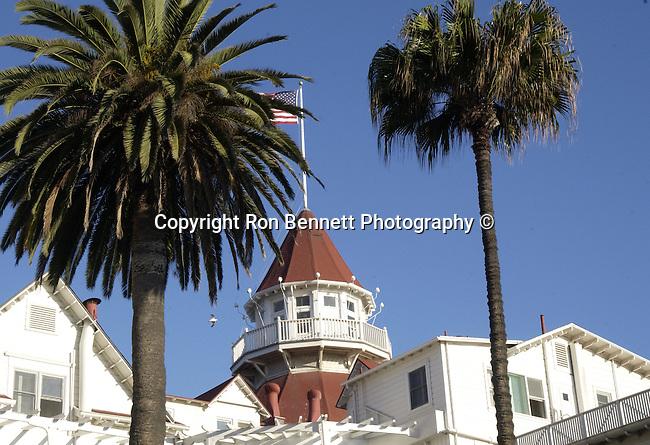 """Hotel del Coronado """"The Del,"""" across San Diego Bay Coronado California,  Del Coronado Hotel Coronado California, San Diego California, West  coast California, West Coast of US, Golden State, 31st State, San Diego, California, CA, Fine Art Photography by Ron Bennett, Fine Art, Fine Art photography, Art Photography, Copyright RonBennettPhotography.com ©"""