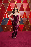 Chelsea Peretti arrives on the red carpet of The 90th Oscars&reg; at the Dolby&reg; Theatre in Hollywood, CA on Sunday, March 4, 2018.<br /> *Editorial Use Only*<br /> CAP/PLF/AMPAS<br /> Supplied by Capital Pictures