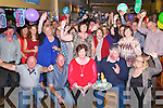 BIRTHDAY: A great crowd attended the 50th birthday of Anthony Mc Crohan on Saturday night in McElligotts Bar, Ardfert on Saturday night seated in front Tesie and Anthony McCrohan (banna Mountain, Ardfert.