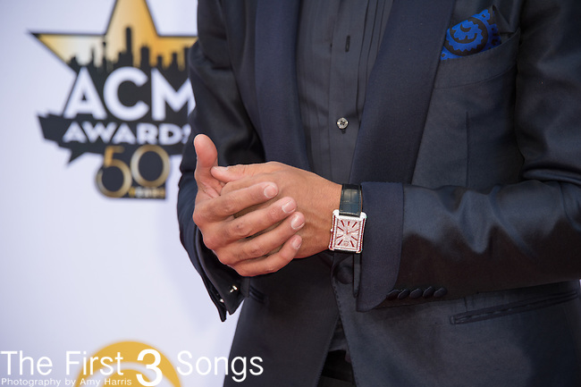 Luke Bryan attends the 50th Academy Of Country Music Awards at AT&T Stadium on April 19, 2015 in Arlington, Texas.
