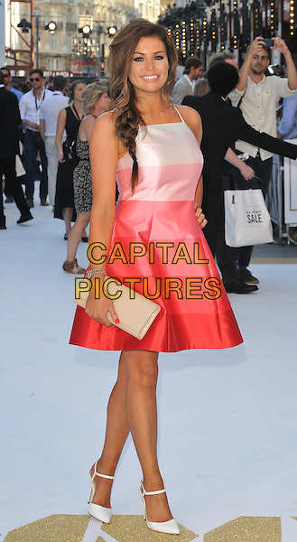 LONDON, ENGLAND - JUNE 30: Jessica Wright attends the &quot;Magic Mike XXL&quot; UK film premiere, Vue West End cinema, Leicester Square, on Tuesday June 30, 2015 in London, England, UK. <br /> CAP/CAN<br /> &copy;CAN/Capital Pictures
