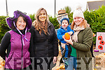 Kilcooley Country Housr Market: Pictured at the market at Kilcooley Country House, Ballybunion on Saturday afternoon last were Joan O'Connor, Billy Joe O'Connor, Leagh Farm & Fionn & Ashley Fitzgerald.