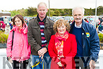 Martina and Phillip Flahive, Ardfert, and Elizabeth and Con Heffernan, Ballyheigue at the Ballyheigue Pattern day mass on Friday.