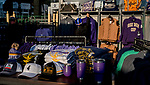 October 27, 2019 : Jockeys look over Breeders' Cup merchandise during preparations for the Breeders' Cup World Championships at Santa Anita Park in Arcadia, California on October 27, 2019. Scott Serio/Eclipse Sportswire/Breeders' Cup/CSM
