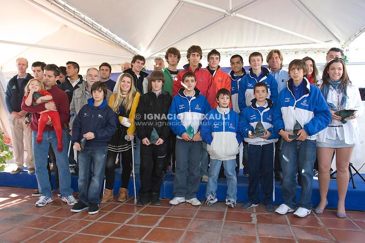 Campeones Autonómicos de la Comunidad Valenciana GRAN FIESTA DE LA VELA VALENCIANA 2009 - Federación de Vela de la Comunidad Valenciana. 7/2/2009 Real Club Náutico de Valencia
