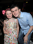 Glen and Taylor Curley pictured at Trudi Walsh's 18th birthday in the Star and Crescent. Photo: Colin Bell/pressphotos.ie