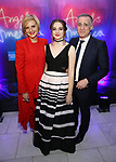 Marianne Elliott, Eve Sidi and  Nick Sidi attends the Broadway Opening Night After Party for 'Angels in America'  at Espace on March 25, 2018 in New York City.