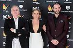Oscar Terol, Maria Leon and Jon Plazaola attends to the Feroz Awards 2017 in Madrid, Spain. January 23, 2017. (ALTERPHOTOS/BorjaB.Hojas)