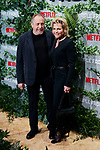 Charles Roven and Dawn Steel attends to Triple Frontera premiere at Callao City Lights in Madrid, Spain. March 06, 2019. (ALTERPHOTOS/A. Perez Meca)