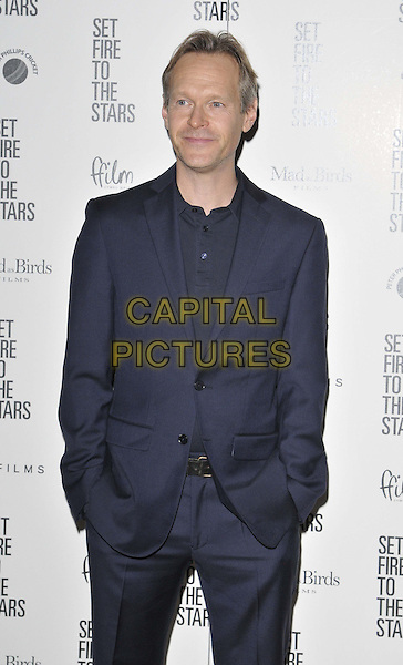 LONDON, ENGLAND - OCTOBER 28: Steven Mackintosh attends the &quot;Set Fire To The Stars&quot; UK film premiere, The Ham Yard Hotel, Denman St., on Tuesday October 28, 2014 in London, England, UK. <br /> CAP/CAN<br /> &copy;Can Nguyen/Capital Pictures