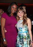 Audra McDonald & Celia Keenan-Bolger.Behind the Scenes at the 2012 Tony Award-Meet The Nominees Press Reception at Millennium Broadway Hotel on May 2, 2012 in New York City. © Walter McBride/WM Photography .