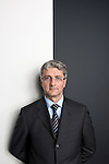 Rupert Stadler, CEO of AUDI photographed at the Audi Pavillion in Miami Beach for Manger Magazine